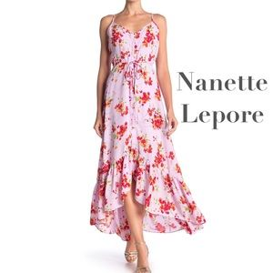 Nanette Lepore hippie festival midi tea dress
